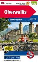 Oberwallis / Rhonetal 21 cycle map