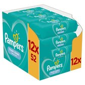 Pampers Fresh Clean Billendoekjes - 624 stuks