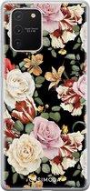 Samsung Galaxy S10 Lite siliconen hoesje - Flowerpower