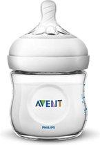 Philips Avent Natural babyfles – SCF030/17 babyfles (0m+) voor langzame toevoer