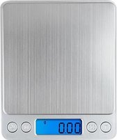 Fuzion PT Weegschaal Silver 500g – 0,01g