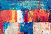 Abstract canvas voor aan de muur