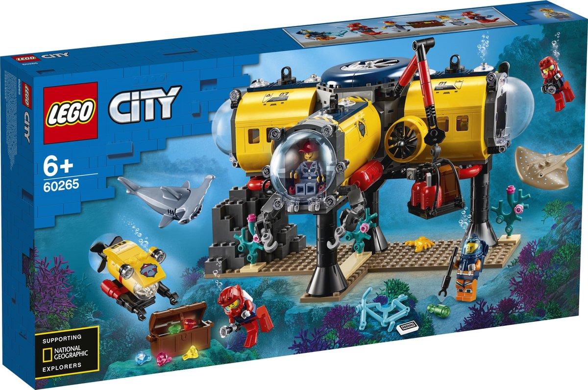 LEGO City Oceaan Onderzoeksbasis - 60265