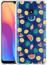 Xiaomi Redmi 8A Hoesje Tropical Fruit