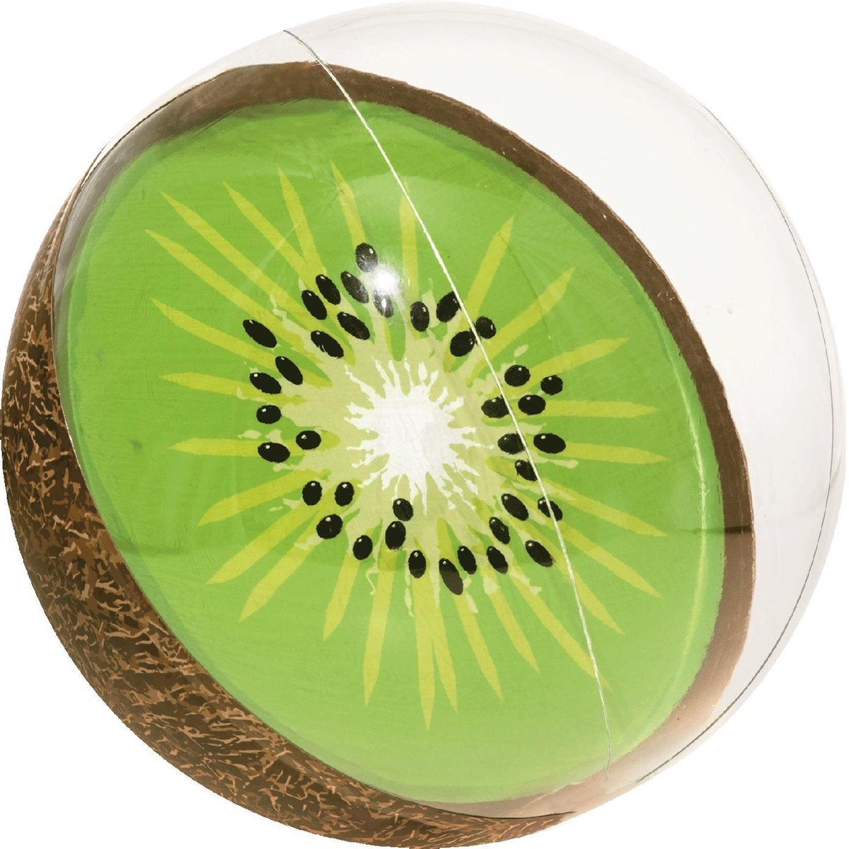 Opblaas Strandbal 'Fruity' 46 cm | kiwi