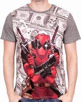 Merchandising DEADPOOL - MARVEL T-Shirt Dollar - Grey (S)