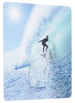 Compactor Zelfklevende Hanger Surfer 9 Cm Polycarbonaat Blauw