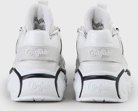 Buffalo Mellow S2 White Imi Leather/suede - Maat 36 SZ6zPe