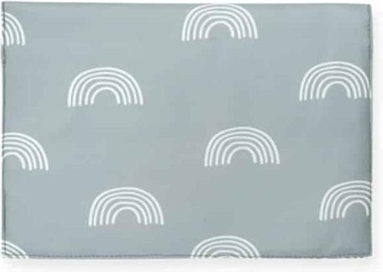 Product: Jollein Luieretui Rainbow - 25x18cm - grey, van het merk Jollein