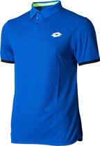 Lotto Aydex IV Polo - Deep Dry Tech Sportpolo - Heren - Maat M - Blauw