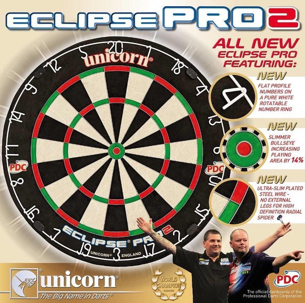 Unicorn Eclipse Pro2 - Dartbord