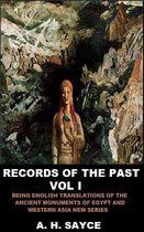 Records of the Past, Volume I