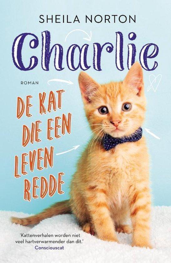 Charlie, de kat die een leven redde - Sheila Norton | Readingchampions.org.uk