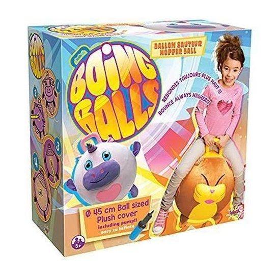 Thumbnail van een extra afbeelding van het spel SPLASH-TOYS Skippybal grijs - 45 cm