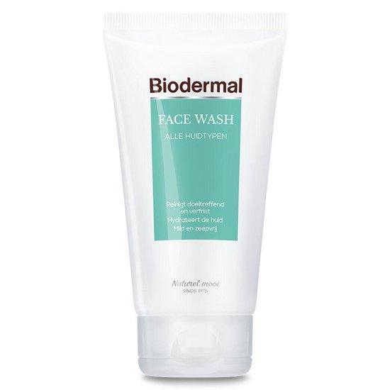 Biodermal Face wash - Milde gezichtsreiniger en make-up remover - 150ml