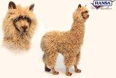 Alpaca, berijdbaar bruin zonder accessories 6464 lxbxh = 72x30x100cm
