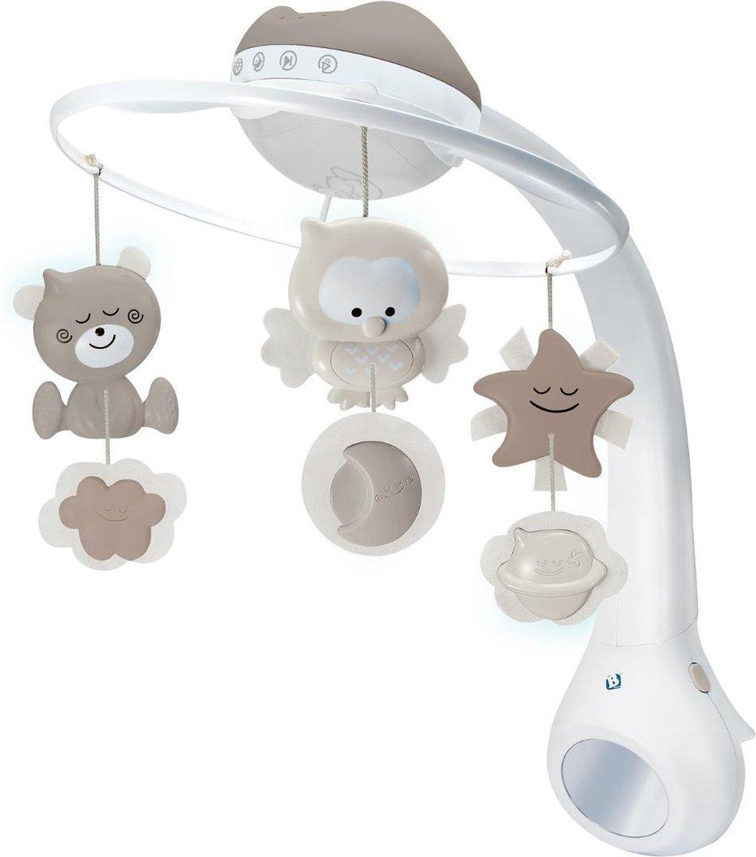 Infantino - Cream  - Bed mobiel, Box activity en Nachtlampje(met muziek)
