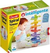 Quercetti Knikkerbaan Spiral Tower: 10-delig