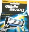 Gillette Mach 3 scheermesjes 4 Stuks