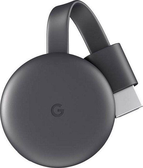 Google Chromecast 3 Smart - TV-dongle - Full HD / Zwart - Google