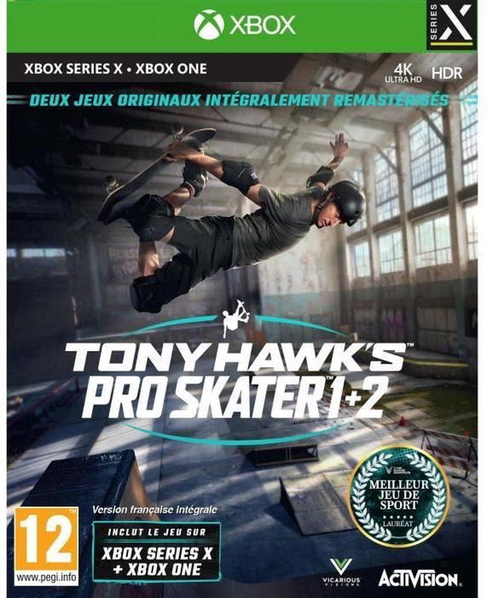 Tony Hawk's Pro Skater 1 + 2 Xbox Series X en Xbox One Game