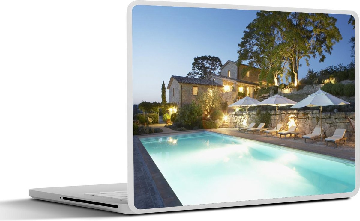 Laptop sticker - 12.3 inch - Italiaanse villa