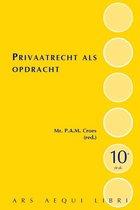 Ars Aequi Handboeken  -   Privaatrecht als opdracht