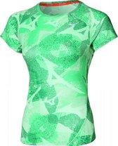 Mizuno Aero Shirt Dames - Grijs - maat L