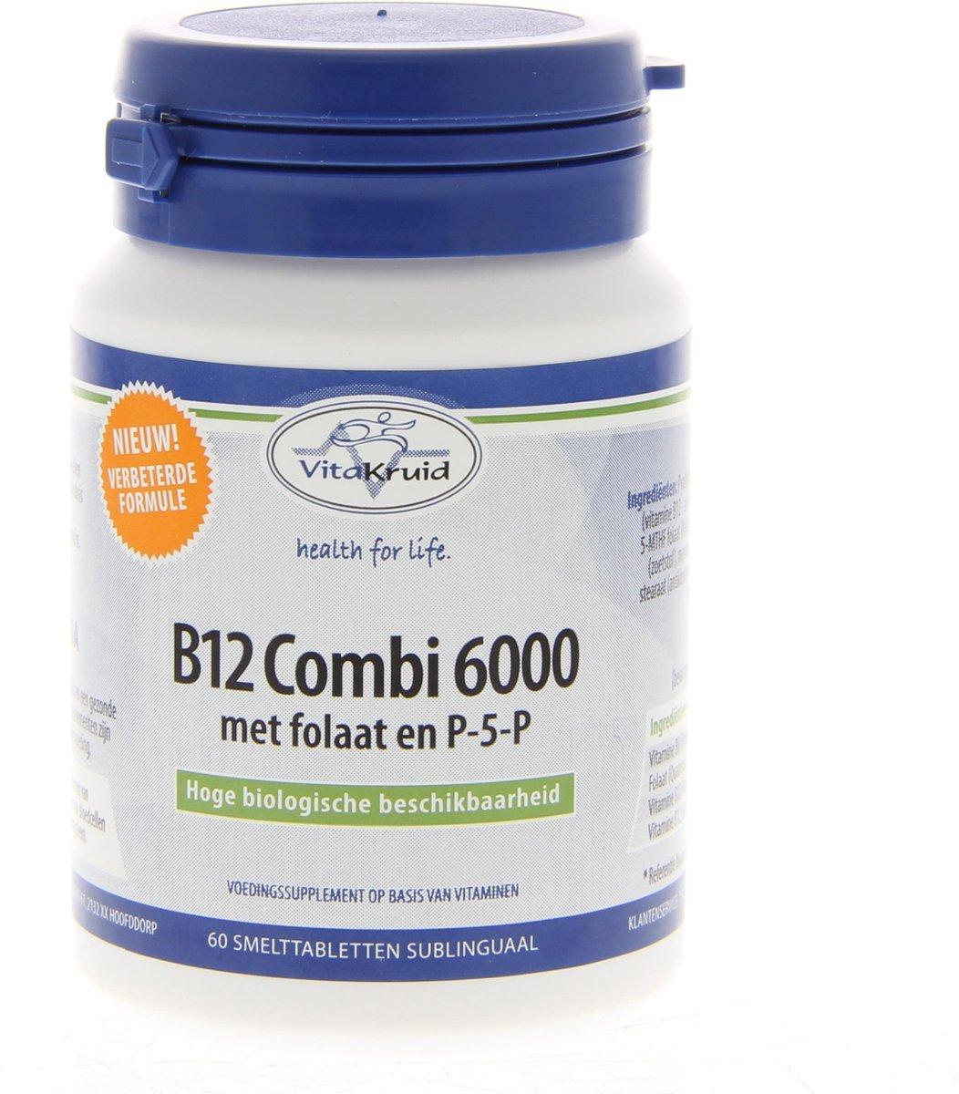 Vitakruid Combi 6000 60 smelttabletten