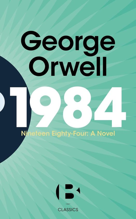 Boek cover 1984 (Nineteen Eighty-Four) van George Orwell (Onbekend)