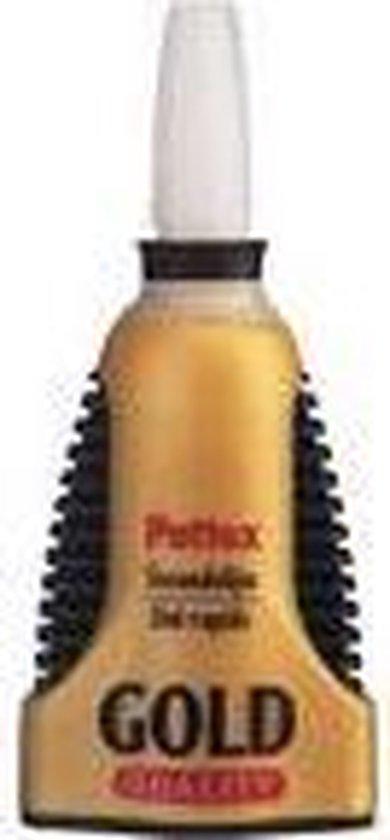 Pattex Gold Original Secondelijm - 3 Gram - Transparant - Pattex