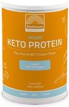 Mattisson / Vegan Keto Protein shake – Pea, Rice & MCT - 350 gram (MT4131)