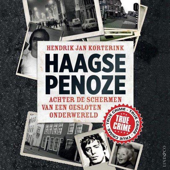 Boek cover Haagse penoze van Hendrik Jan Korterink (Onbekend)