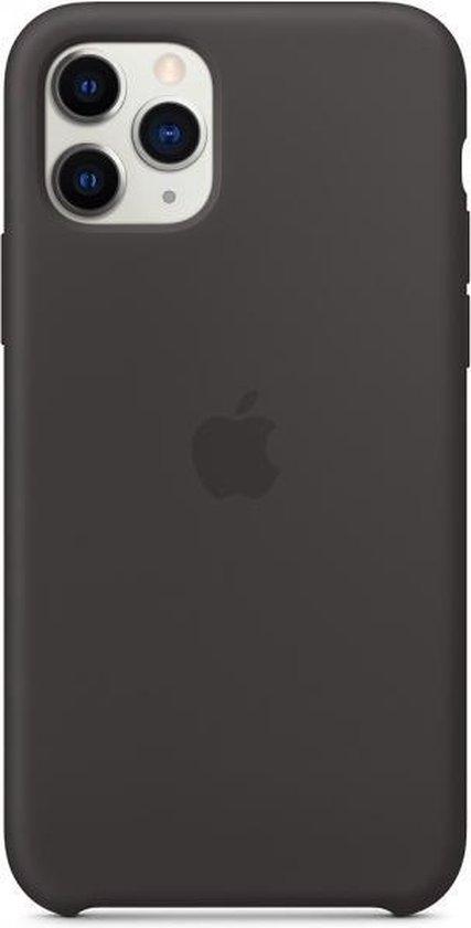 Apple Siliconen Hoesje voor iPhone 11 Pro - Zwart