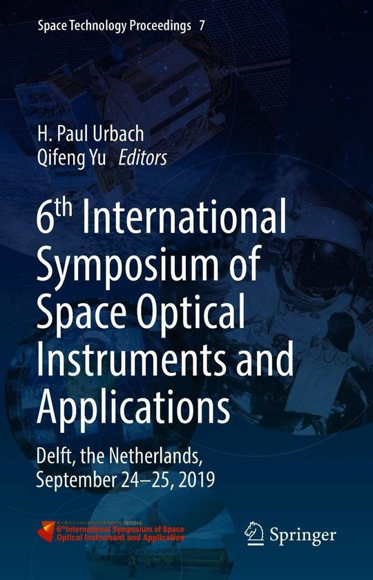Boek cover 6th International Symposium of Space Optical Instruments and Applications van  (Onbekend)