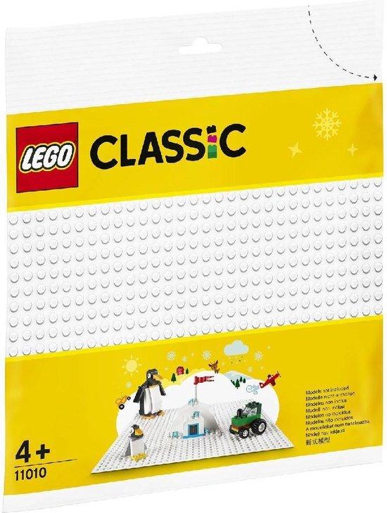Lego Classic 11010 Witte Bouwplaat met 32×32 Noppen