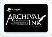Archival Permanent Ink Pad - Jet Black - Zwart