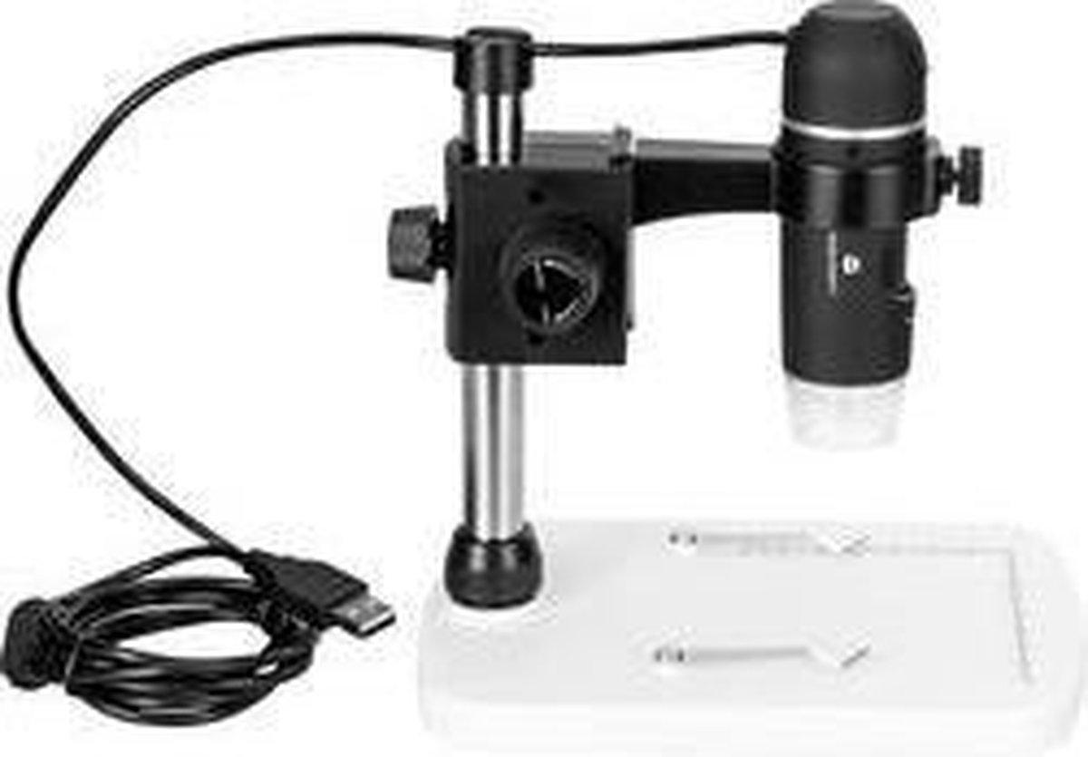 Toolcraft Usb-Microscoop Met Monitor 5 Mpix Digitale Vergroting (Max.): 150 X