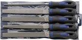 Forum Werkplaatsvijlen-assortiment H2 Kap 2, 250mm, 5-delig