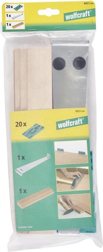 Wolfcraft Legset - 20-delig - Wolfcraft