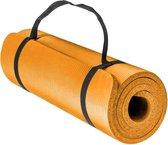 Green Hill Fitnessmat - Yogamat - Sportmat 180x60x1cm - Oranje