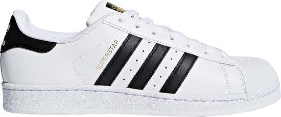adidas Superstar Heren Sneakers - Ftwr White/Core Black - Maat 42