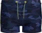WE Fashion Jongens zwemtrunk met camouflagedessin