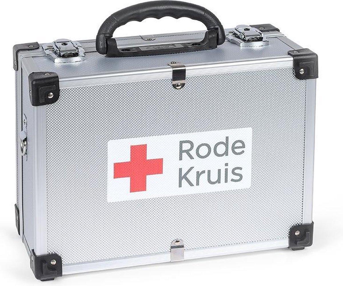 Rode Kruis - EHBO-koffer - 'In en om het huis' -  Eerste hulp kit: 121-delig