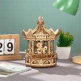 ROKR Romantic Carousel AMK62 houten bouwpakket