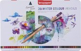 Bruynzeel Expression blik 36 aquarelpotloden met penseel