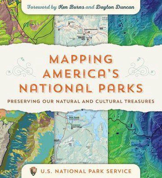 Boek cover Mapping Americas National Parks van US National Park Service (Onbekend)