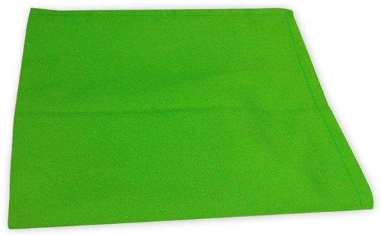 I2T Theedoeken 50x70 cm - Set van 4 - Lime - 210 gr/m²