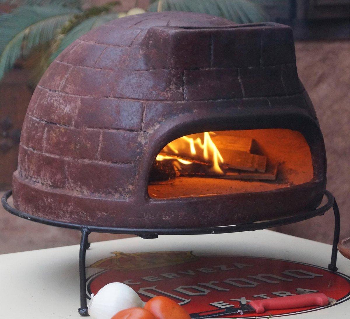 Sol-y-yo Houtgestookte Venetiaans Stenen Pizza oven 52CM