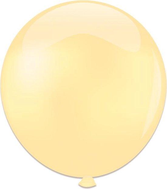 Topballon ivoor 91 cm